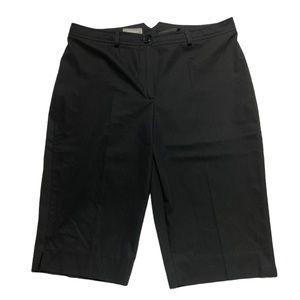 Steilmann Bermuda Short Black Size 10 EUC